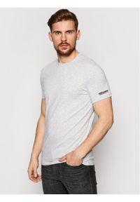 Dsquared2 Underwear T-Shirt D9M203520 Szary Regular Fit. Kolor: szary