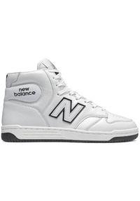 New Balance BB480HE. Materiał: skóra. Szerokość cholewki: normalna. Sport: koszykówka