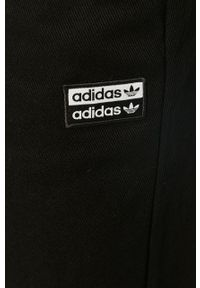 Czarne ogrodniczki jeansowe adidas Originals
