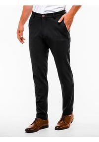 Czarne spodnie Ombre Clothing klasyczne