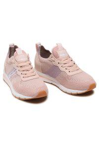 Refresh - Sneakersy REFRESH - 72909 Nude. Okazja: na co dzień, na spacer. Kolor: różowy. Materiał: skóra ekologiczna, materiał. Szerokość cholewki: normalna. Sezon: lato. Styl: casual #7