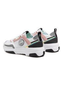 Colmar - Sneakersy COLMAR - Ayden Hazy 103 White/Lt Pink/Water Green. Okazja: na co dzień. Kolor: biały. Materiał: zamsz, materiał, skóra. Szerokość cholewki: normalna. Sezon: lato. Obcas: na płaskiej podeszwie. Styl: casual