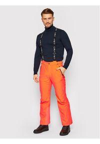 Pomarańczowe spodnie sportowe CMP narciarskie
