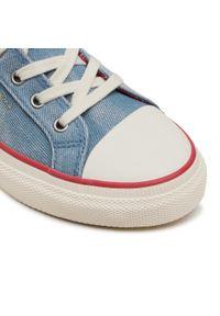 Niebieskie półbuty Pepe Jeans casualowe, z cholewką, na co dzień #8