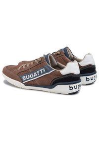 Brązowe sneakersy Bugatti