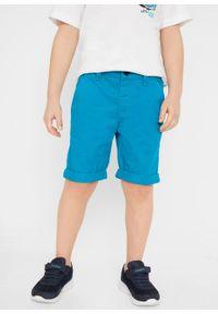 Niebieskie spodnie bonprix na plażę