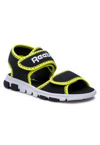 Czarne sandały Reebok