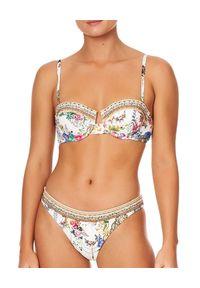 Camilla - CAMILLA - Dół od bikini By teh Meadow. Stan: obniżony. Kolor: biały. Materiał: tkanina, nylon