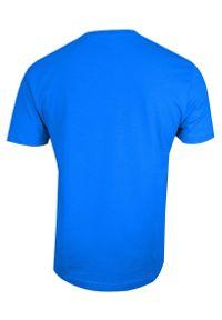 Niebieski t-shirt Stedman krótki, casualowy, na co dzień