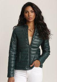 Zielona kurtka pikowana Renee