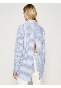 Niebieska koszula Victoria Victoria Beckham
