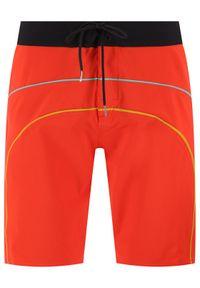 Volcom Szorty kąpielowe Rainbow A0812017 Czerwony Regular Fit. Kolor: czerwony