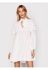 Biała sukienka koktajlowa Babylon