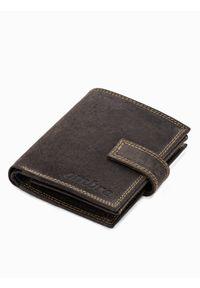 Brązowy portfel Ombre Clothing
