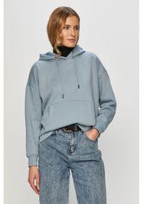 Niebieska bluza only z kapturem