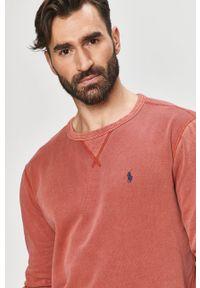 Różowa bluza nierozpinana Polo Ralph Lauren na co dzień, polo