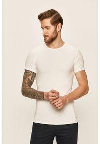 TOMMY HILFIGER - Tommy Hilfiger - T-shirt (3-pack). Kolor: biały. Materiał: dzianina, materiał. Wzór: gładki