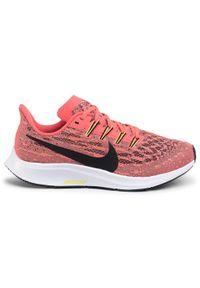 Czerwone półbuty Nike z cholewką