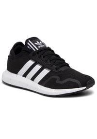 Adidas - Buty adidas - Swift Run X J FY2150 Cblack/Ftwwht/Cblack. Okazja: na uczelnię. Zapięcie: sznurówki. Kolor: czarny. Materiał: materiał. Szerokość cholewki: normalna. Styl: młodzieżowy