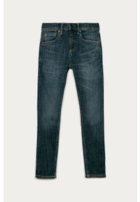 Niebieskie jeansy GAP gładkie