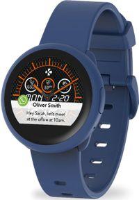 Niebieski zegarek MYKRONOZ smartwatch