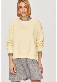 Żółta bluza only z długim rękawem, na co dzień