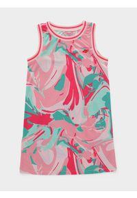Wielokolorowa sukienka 4f sportowa, sportowa, na lato