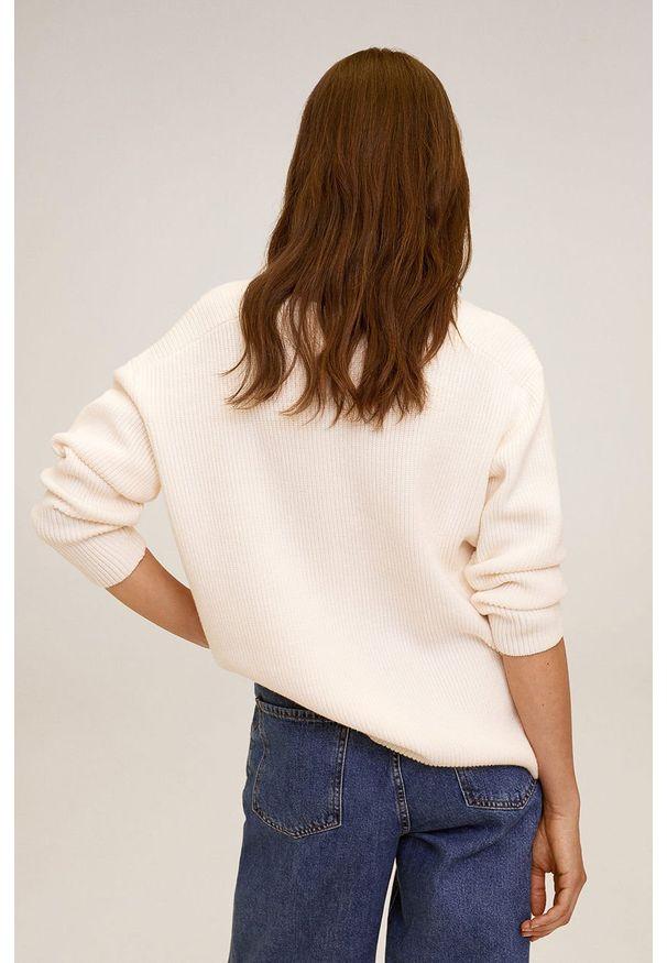Sweter mango długi, z długim rękawem
