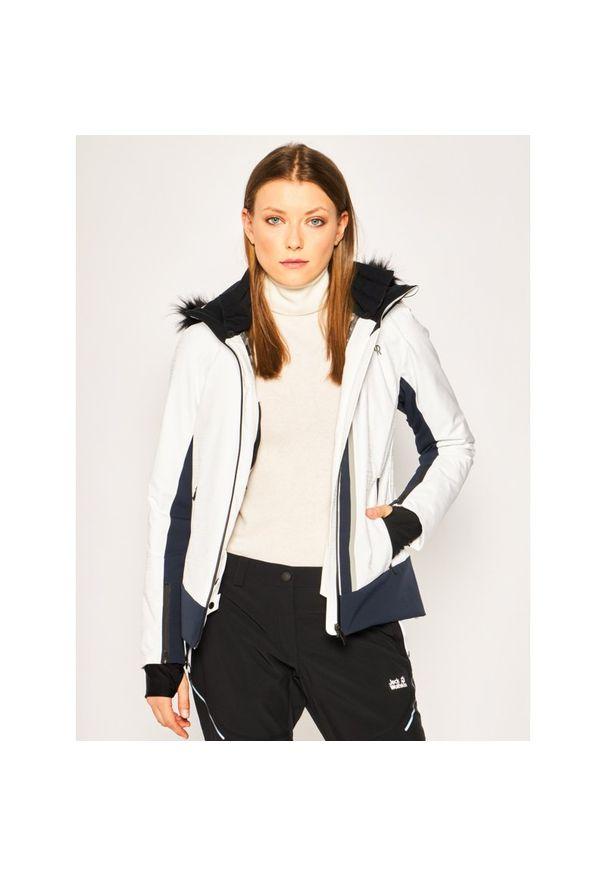 Biała kurtka narciarska Colmar