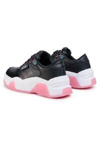 Versace Jeans Couture Sneakersy E0VVBSF8 Czarny. Kolor: czarny