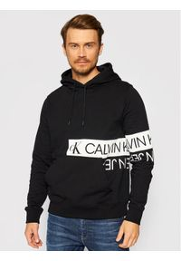 Calvin Klein Jeans Bluza J30J317052 Czarny Regular Fit. Kolor: czarny