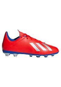 Adidas - Buty adidas X 18.4 FG Jr BB9379. Zapięcie: sznurówki. Szerokość cholewki: normalna. Sport: piłka nożna
