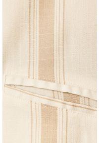 TALLY WEIJL - Tally Weijl - Żakiet. Kolor: beżowy. Materiał: tkanina