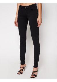 Guess Jeansy Curve X W1GAJ2 W77RE Czarny Skinny Fit. Kolor: czarny