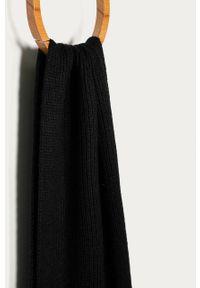 Czarny szalik Trussardi Jeans