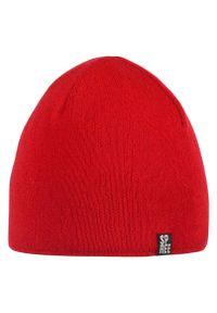 Czerwona czapka Spree na zimę, klasyczna