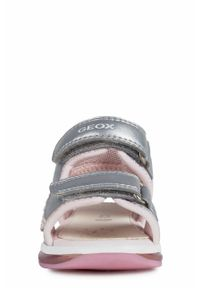 Srebrne sandały Geox