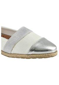 Lamelia - Półbuty LAMELIA 40C1167 Biały/Srebrny. Kolor: srebrny, biały, wielokolorowy