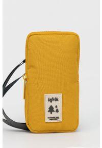 Lefrik - Saszetka. Kolor: żółty. Materiał: materiał