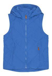 Reima Kurtka puchowa Beringer 531483 Niebieski Regular Fit. Kolor: niebieski. Materiał: puch #9