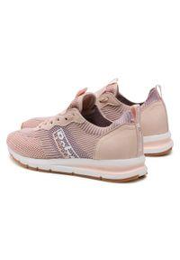 Refresh - Sneakersy REFRESH - 72909 Nude. Okazja: na co dzień, na spacer. Kolor: różowy. Materiał: skóra ekologiczna, materiał. Szerokość cholewki: normalna. Sezon: lato. Styl: casual #4
