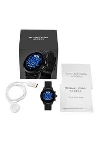 Czarny zegarek Michael Kors smartwatch