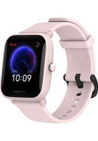 AMAZFIT - Smartwatch Amazfit Bip U Pro Różowy (xiaomi_20210108154849). Rodzaj zegarka: smartwatch. Kolor: różowy