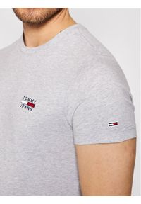 Tommy Jeans T-Shirt Tjm chest Logo Tee DM0DM10099 Szary Regular Fit. Kolor: szary