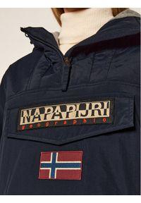 Niebieska kurtka zimowa Napapijri