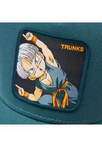 CapsLab - Czapka z daszkiem CAPSLAB - Freegun Dragon Ball CL/DBZ2/1/TRK1 Green. Kolor: zielony. Materiał: materiał, bawełna, poliester