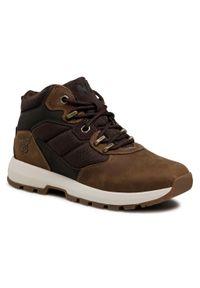 Brązowe buty trekkingowe Helly Hansen trekkingowe