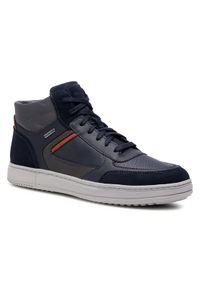 Geox Sneakersy U Levico B Abx C U04AHC 04622 C4002 Granatowy. Kolor: niebieski