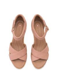 Różowe sandały Clarks