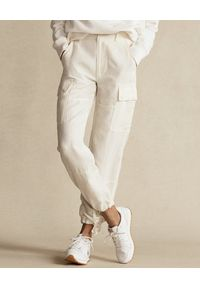 Beżowe spodnie Ralph Lauren